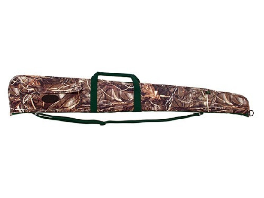 "Boyt Floating Shotgun Gun Case 52"" with Pocket Nylon Realtree Max-4 Camo"