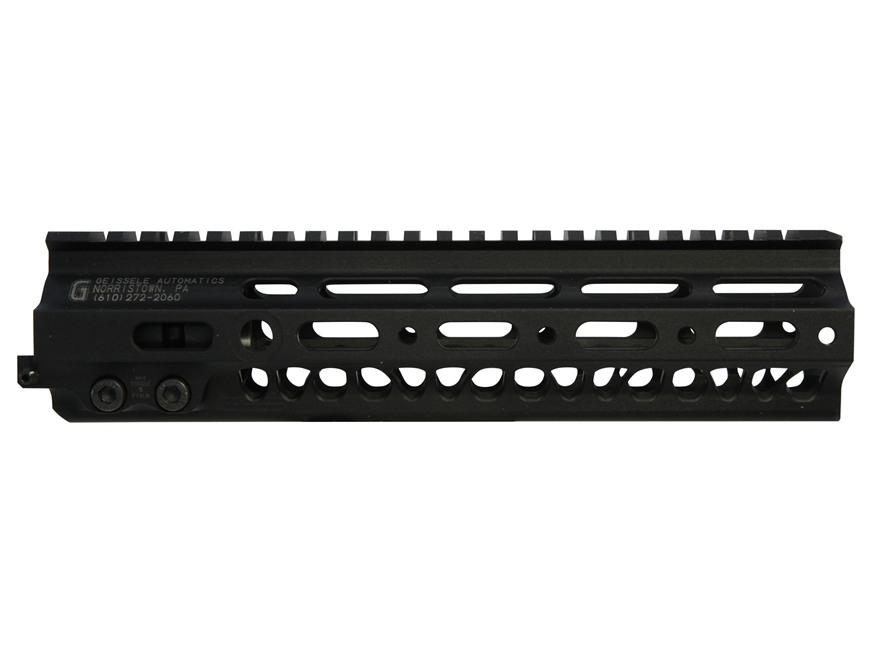 "Geissele Super Modular Rail MK2 Free Float Handguard AR-15 Aluminum Black 9.5"""