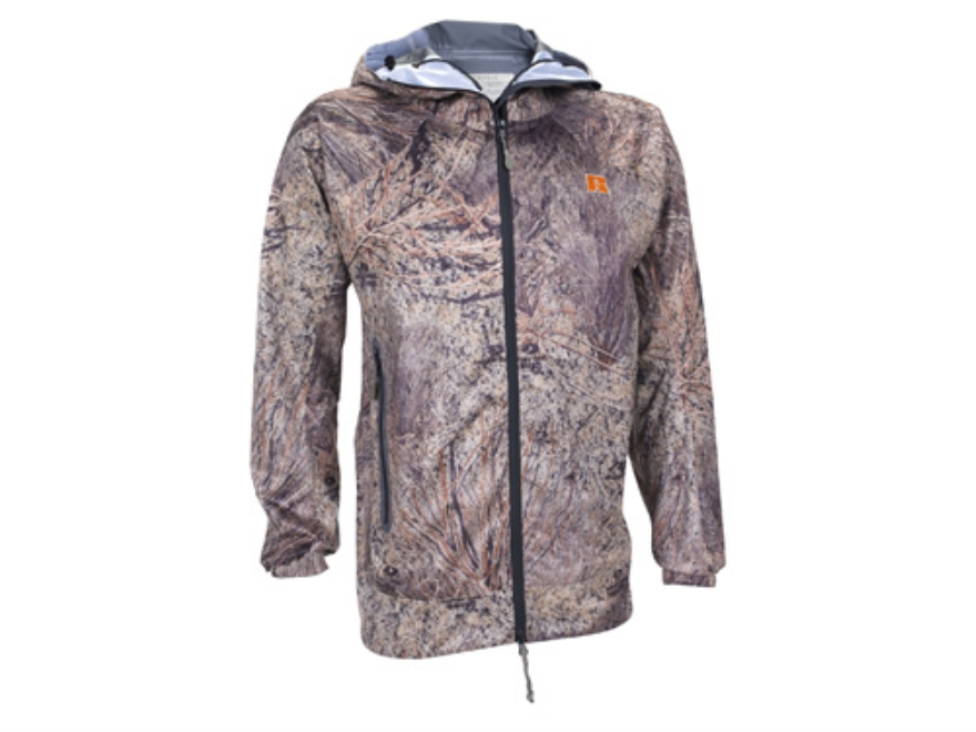 APX Men's L5 Cyclone Rain Jacket Polyester Mossy Oak Brush Camo Large 42-44