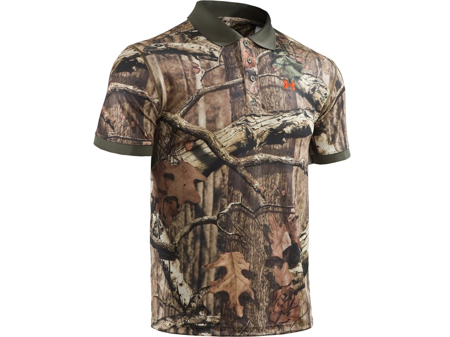 Under Armour Men's UA Camo Polo Shirt