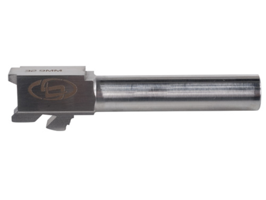 "Storm Lake Conversion Barrel Glock 32 40 S&W to 9mm Luger 1 in 16"" Twist 4.02"" Stainless Steel"