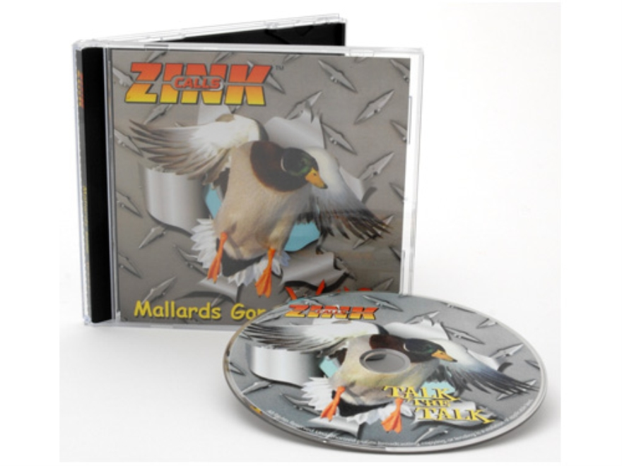 "Zink ""Mallards Gone Wild"" Duck Calling Instructional Audio CD"