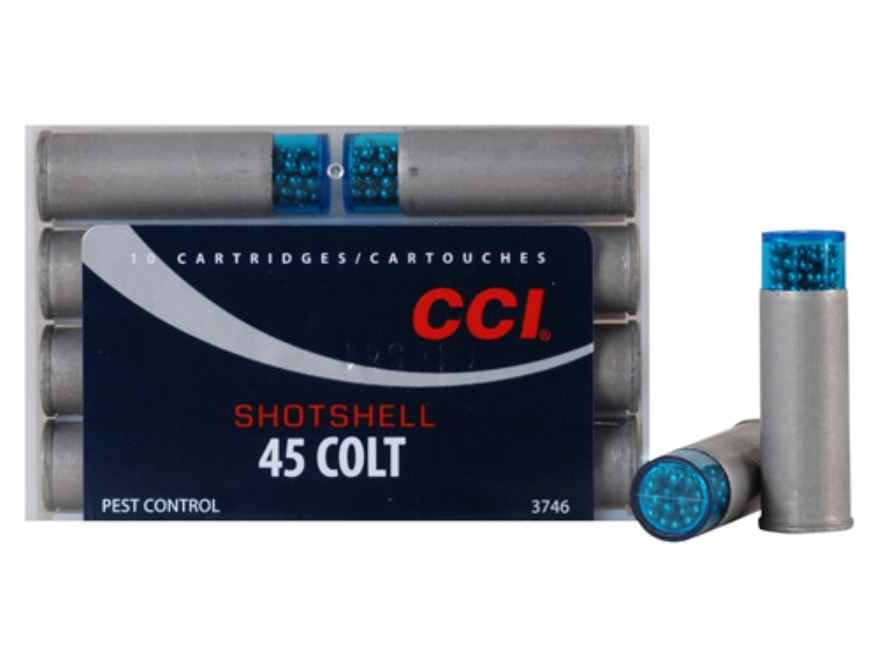 CCI Shotshell Ammunition 45 Colt (Long Colt) 150 Grains #9 Shot Box of 10