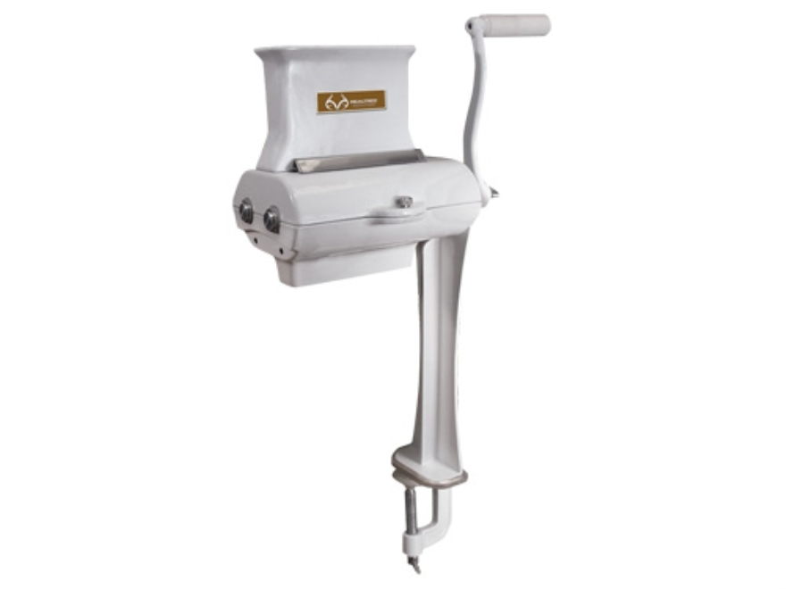 Team Realtree Manual Meat Tenderizer and Jerky Slicer