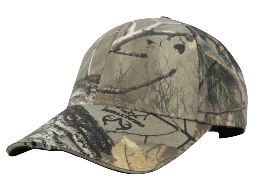 HiBeam Hands-Free Lighted Cap Cotton Realtree Xtra Camo
