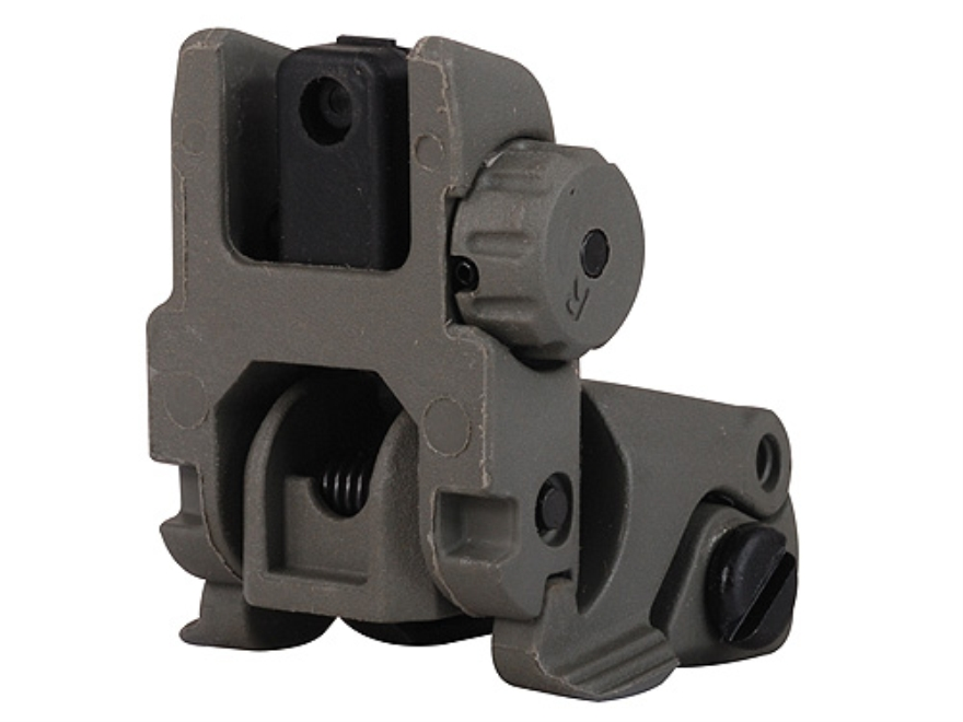 MagPul MBUS Flip-Up Rear Sight AR-15 Polymer Foliage Green