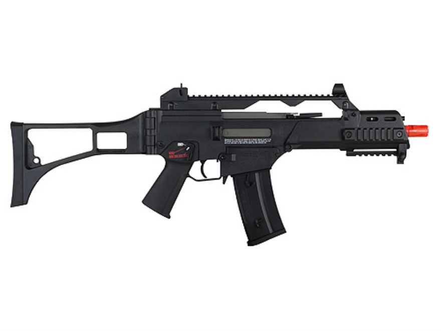 HK G36C Airsoft Rifle 6mm Electric Semi/Full-Automatic Polymer Black