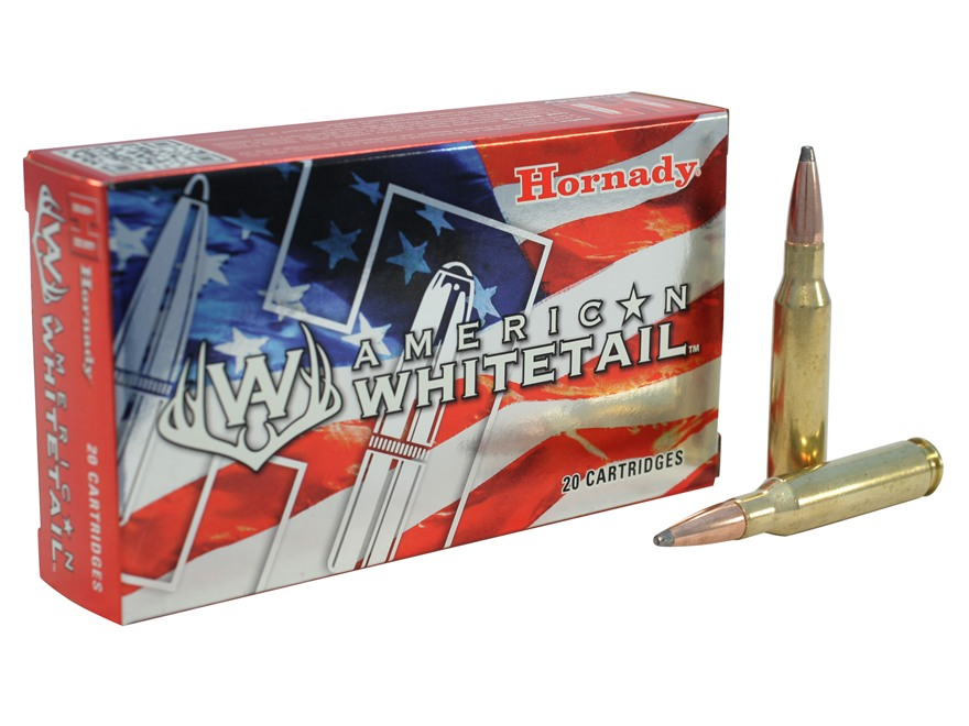 Hornady American Whitetail Ammunition 7mm-08 Remington 139 Grain Interlock Spire Point Box of 20