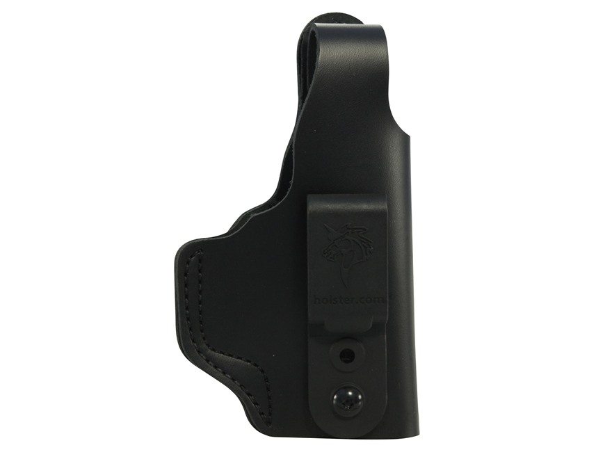 DeSantis Dual Carry II Inside/Outside the Waistband Holster Right Hand Glock 26, 27 Leather Black