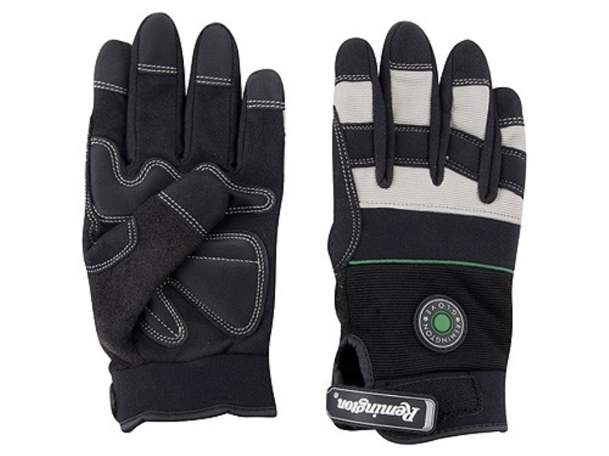 Remington RG-12 Gel Padded Gloves Synthetic Black Large