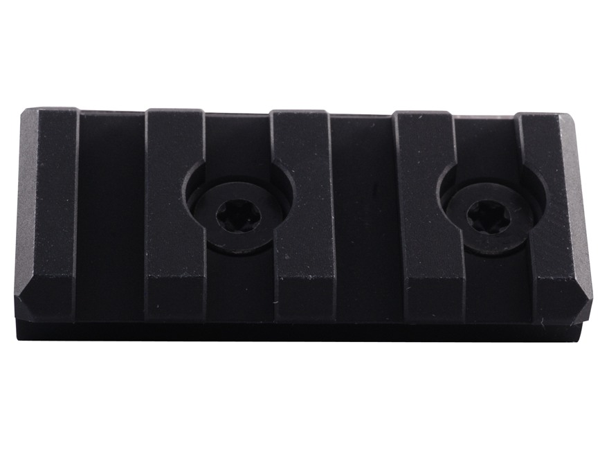 Noveske KeyMod Customizable Rail Section for NSR Handguards AR-15 Aluminum Black