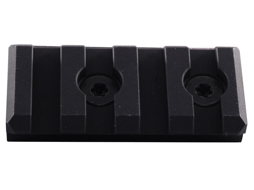 Noveske KeyMod Customizable Rail Section for NSR Handguards AR-15 Aluminum Black