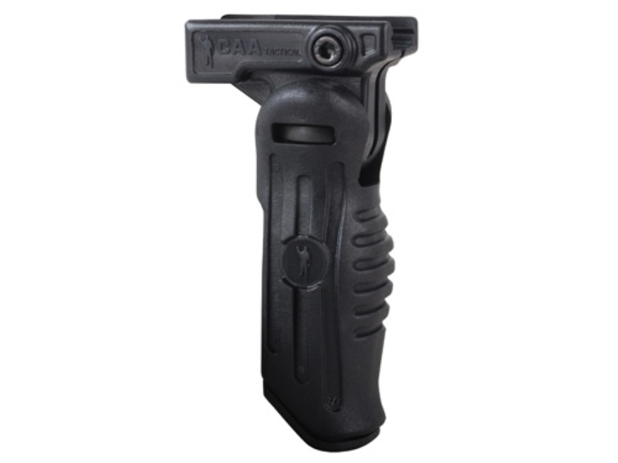 Commands Arms FVG 3-Position Folding Vertical Forend Grip with Battery Storage Compartment AR-15 Polymer