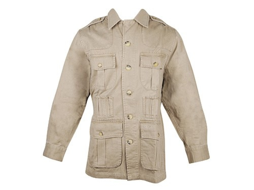 Boyt Shumba Safari Jacket Long Sleeve Cotton Twill