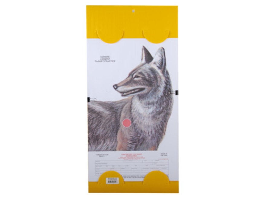 "EZ Target Coyote Replacement Pad Target 14"" x 22"" Paper Package of 15"