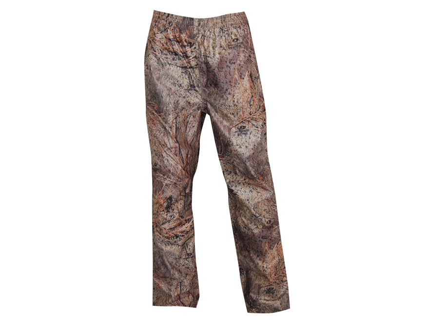 "Russell Outdoors Men's Raintamer 2 Rain Pants Polyester Mossy Oak Brush Camo Large 38-40 Waist 33"" Inseam"