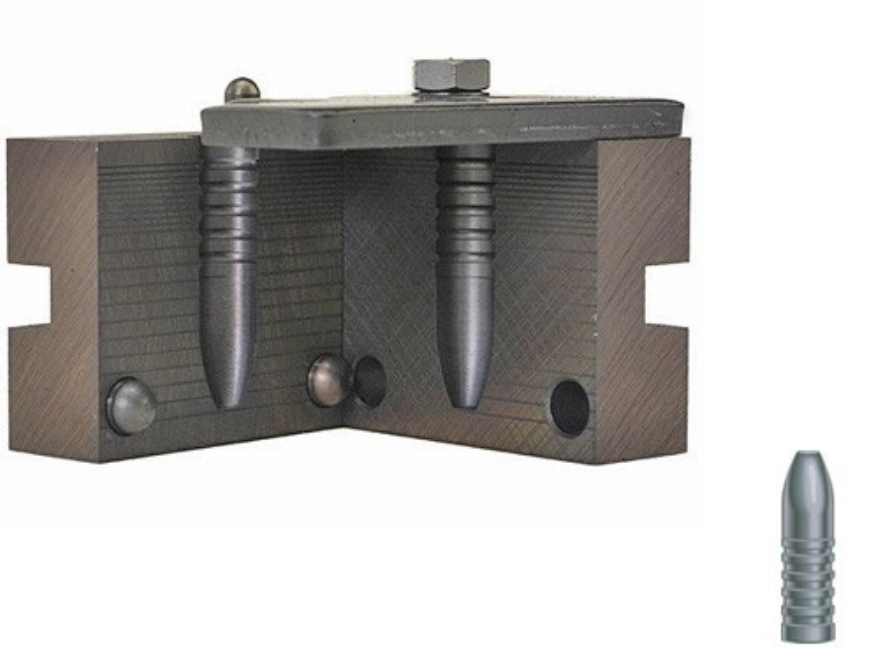 RCBS 1-Cavity Bullet Mold 40-400-SP-CSA 40 Caliber (410 Diameter) 400 Grain Semi-Point C Sharps Arms