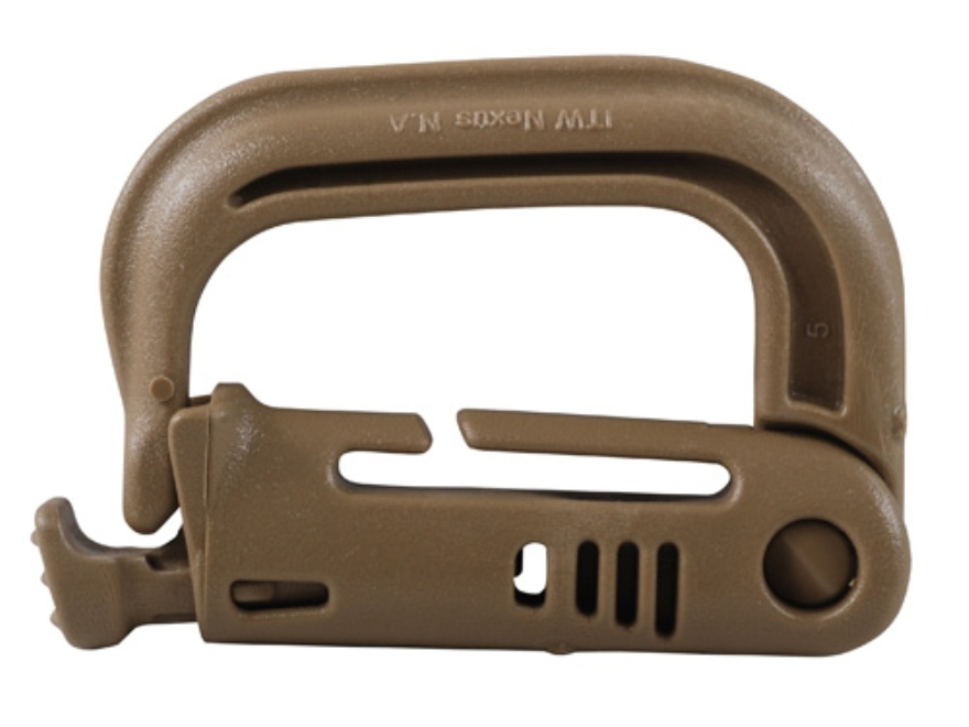 ITW Grimloc Locking Carabiner Polymer Package of 2