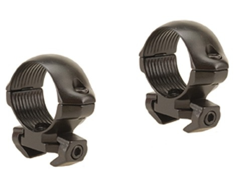 "Millett 1"" Angle-Loc Windage Adjustable Weaver-Style Rings Gloss Low"