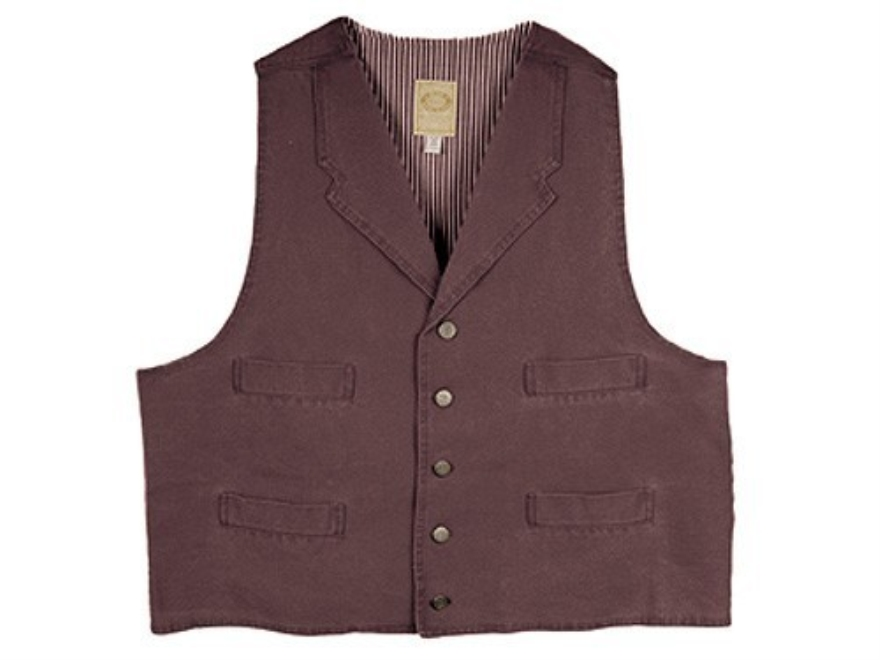 WahMaker Trapper Vest Canvas Walnut 2XL