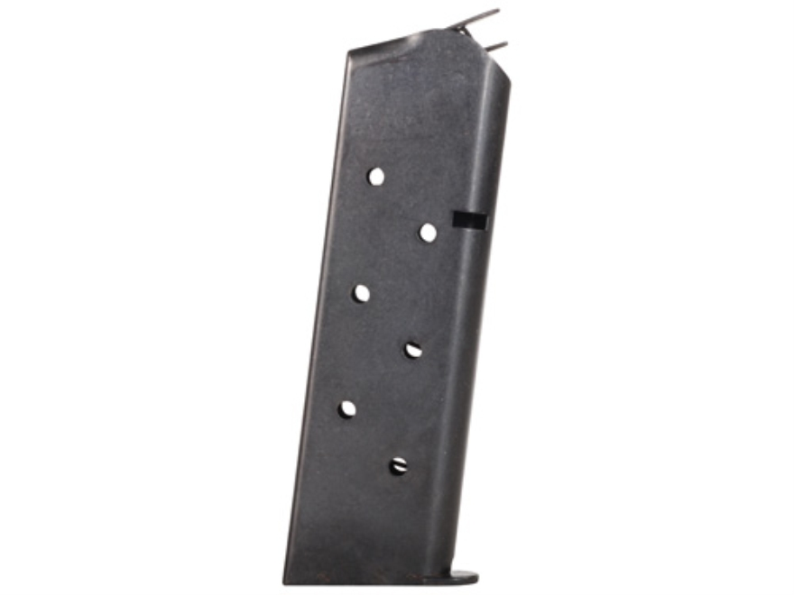 Metalform Magazine 1911 Government, Commander 45 ACP 8-Round Steel Blue Flat Follower Welded Based