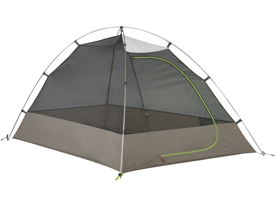 "Kelty Grand Mesa 2 Person Dome Tent 82"" x 58"" x 44"" Polyester White, Gray and Green"