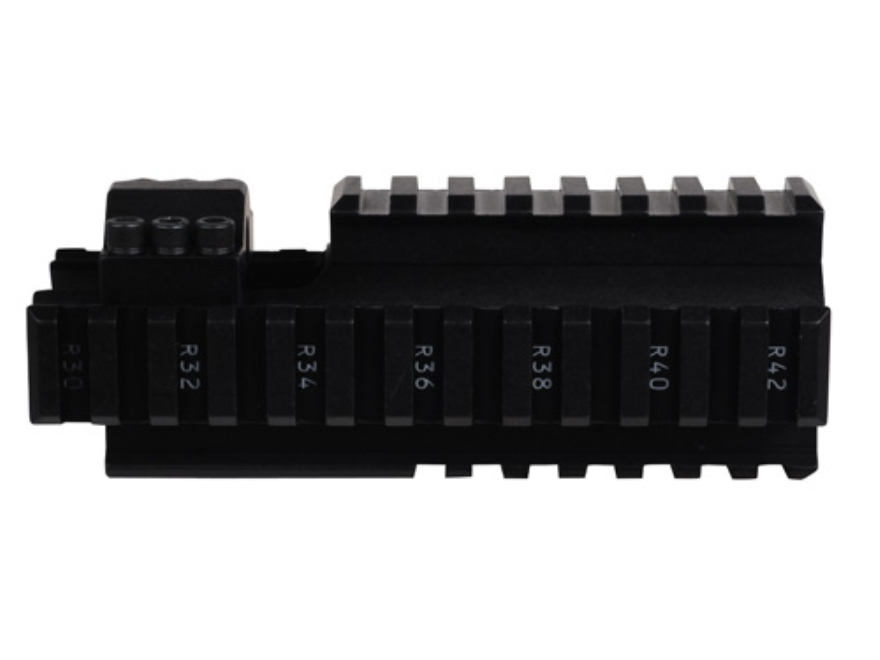 ERGO Carbine Handguard Extension AR-15/M16/M4 4 Rail Aluminum Black
