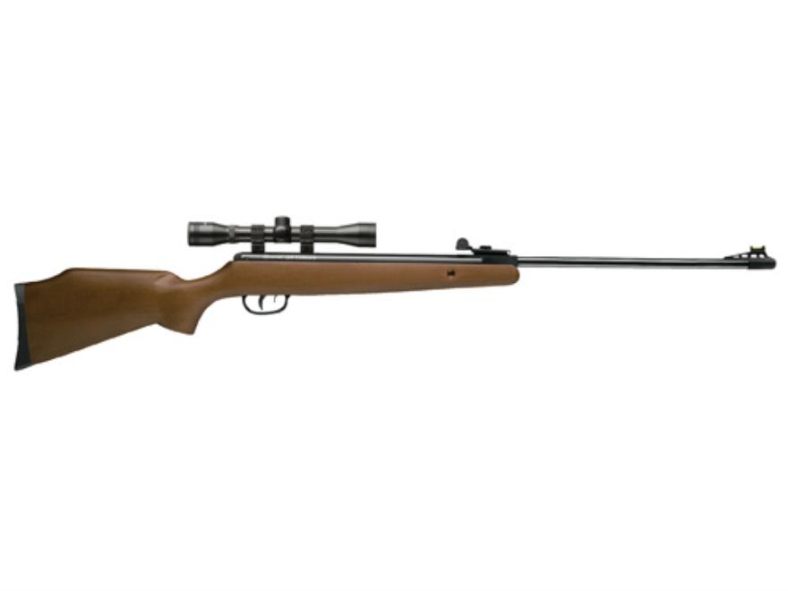 Crosman Optimus Air Rifle 177 Caliber Hardwood Stock Blue Barrel