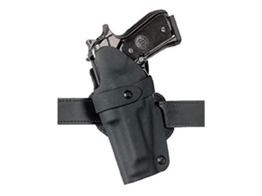 """Safariland 701 Concealment Holster S&W 39, 59, 439, 459, 639, 659, 915, 3904, 3906, 5903, 5904, 5906, 5923, 5924, 5926, 5946 2.25"""" Belt Loop Laminate Fine-Tac Black"""