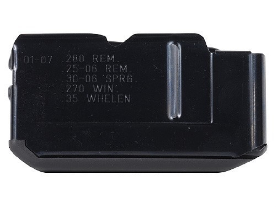 Remington Magazine Remington Four, 74, 740, 742, 7400 25-06 Remington, 270 Winchester, 280 Remington, 30-06 Springfield, 35 Whelen 4-Round Steel Matte