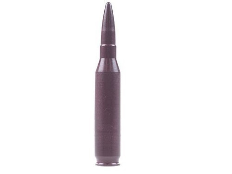 A-ZOOM Action Proving Dummy Round, Snap Cap 260 Remington Aluminum Package of 2