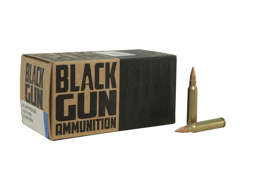 BlackGun Industries Remanufactured Ammunition 5.56x45mm NATO 62 Grain M855 SS109 Penetrator Full Metal Jacket
