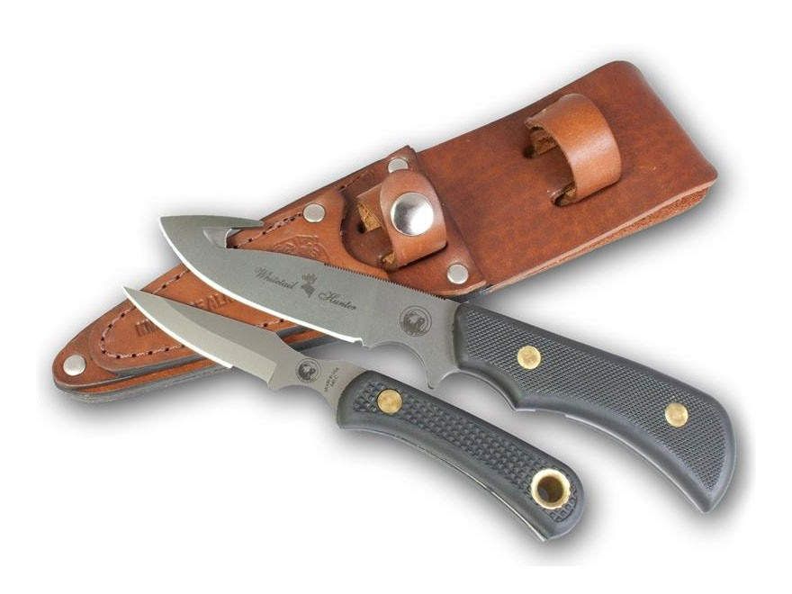 Knives of Alaska Trekker Whitetail Hunter/Cub Bear Combination Fixed Blade Knife Set D2...