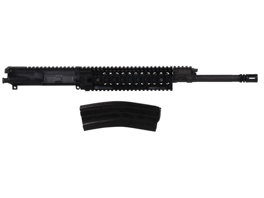 "Barrett AR-15 REC7 A3 Flat-Top Upper Assembly 6.8mm Remington SPC II 1 in 10"" Twist 16"" Barrel  Chrome Lined Chrome Moly Matte with Omega X Quad Rail Free Float Handguard, Flash Hider"