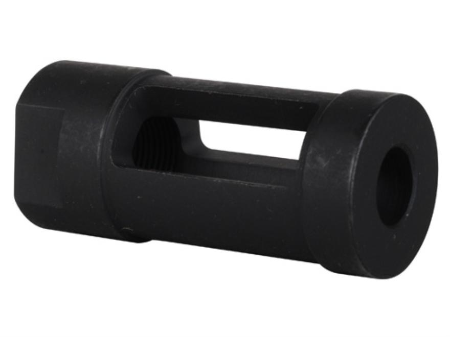 "DoubleStar Carlson Muzzle Brake 1/2""-28 Thread AR-15 Steel Matte"