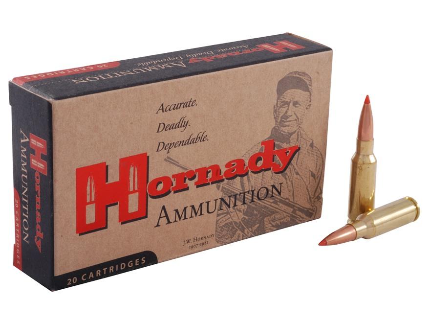 Hornady Match Ammunition 6.5 Grendel 123 Grain A-Max Boat Tail Box of 20
