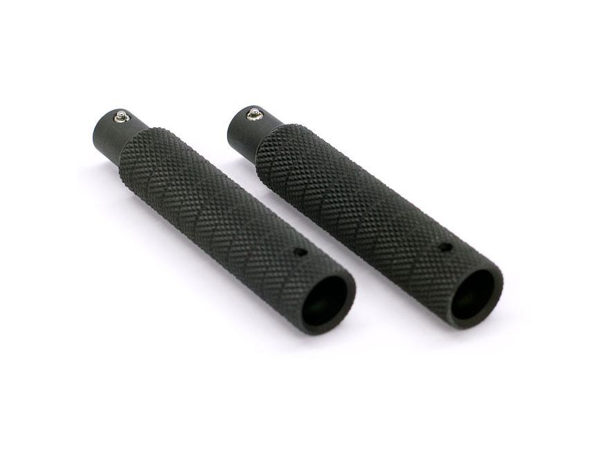 "Atlas Bipod 3"" Leg Extensions Aluminum Black"