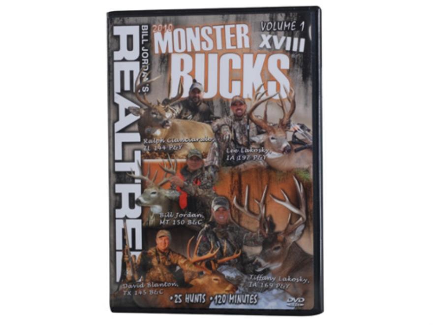 Realtree Monster Bucks 18 Volume 1 Video DVD