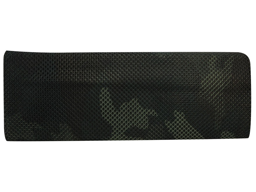 "Military Surplus Individual Camouflage Netting 60"" x 96"" Grade 1 Nylon Woodland Camo"