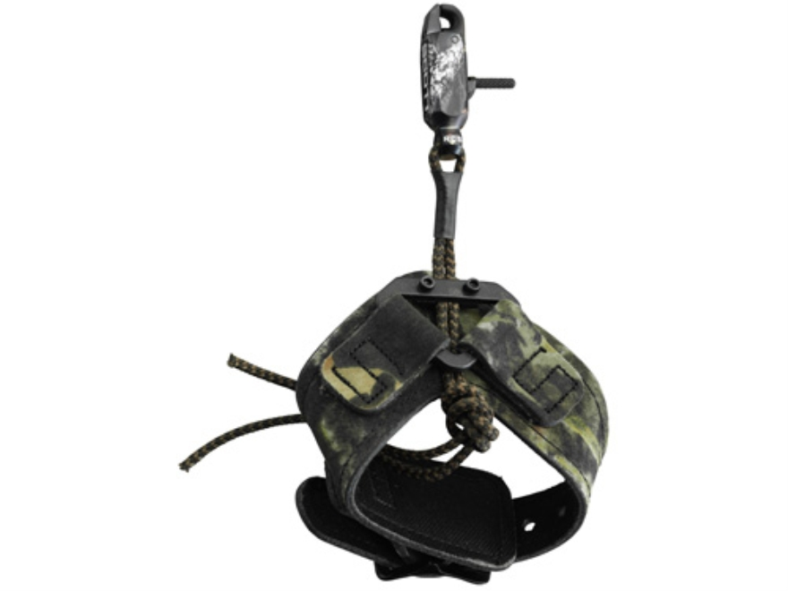 Scott Archery Little Bitty Goose Bow Release Hook-&-Loop Fastener Wrist Strap Mossy Oak Break-Up Camo