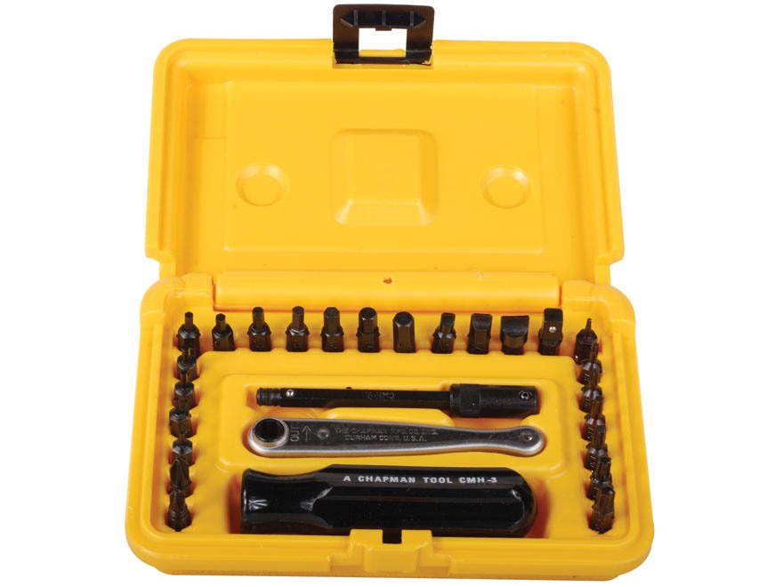 Chapman Model 6810 27-Piece Deluxe Screwdriver Set with Torx Bits