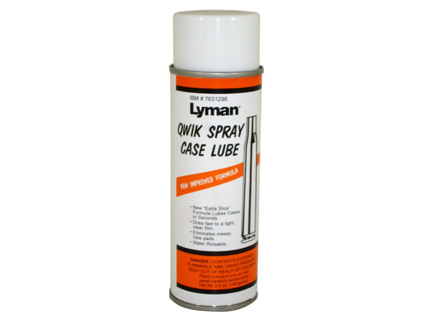 Lyman Quik Spray Case Lube 5-1/2 oz Aerosol
