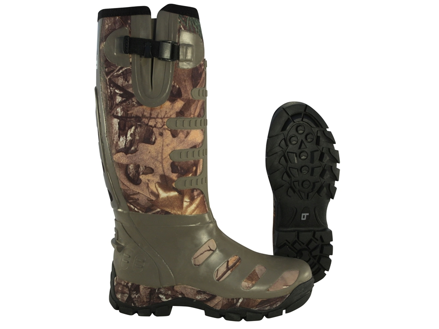 "Banded 17"" Waterproof Breathable Uninsulated Hunting Boots Nylon and Rubber Realtree Xtra Camo Men's"