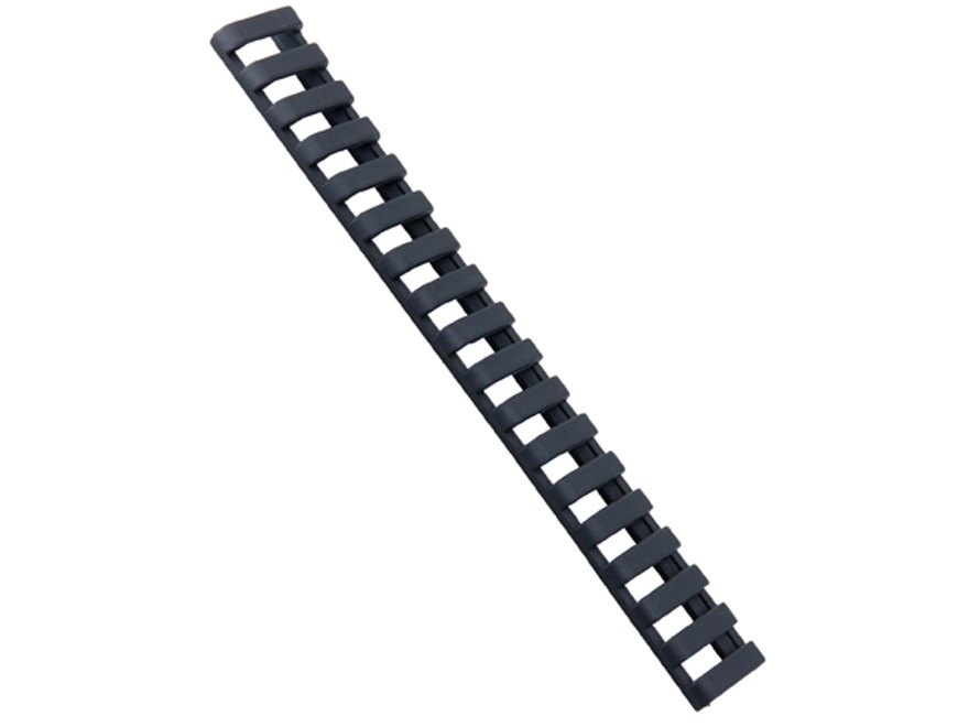 """ERGO Low Profile Ladder Picatinny Rail Cover 6"""" Polymer Package of 3"""