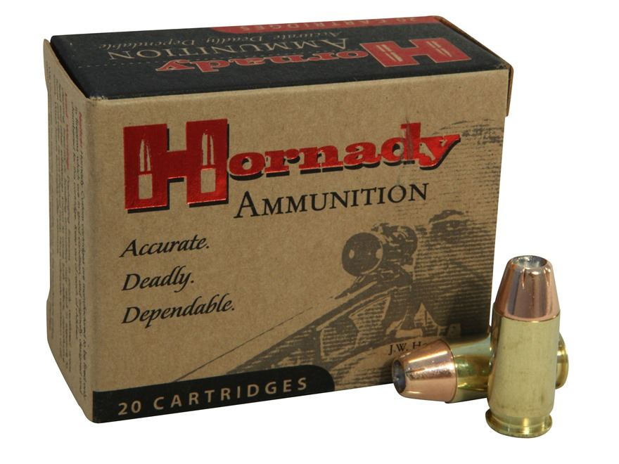 Hornady Custom Ammunition 45 ACP 200 Grain XTP Jacketed Hollow Point Box of 20