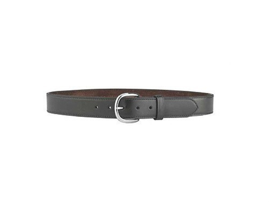 """Galco CSB7 COP Belt 1-1/2"""" Nickel Plated Brass Brass Buckle Leather"""
