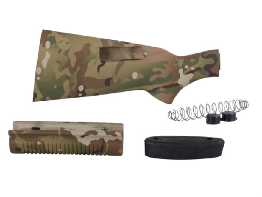 Speedfeed 1 Buttstock and Forend with Integral Magazine Tubes Remington 870 12 Gauge Synthetic Multicam Camo