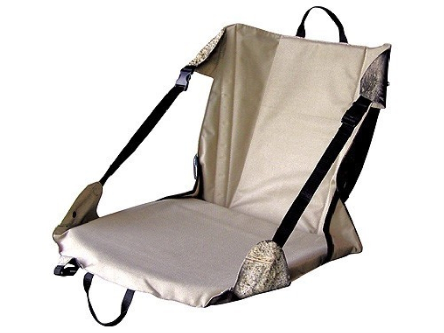 Primos Randy Anderson Signature Series Bark-A-Lounger Seat Polyester Mossy Oak Brush Camo