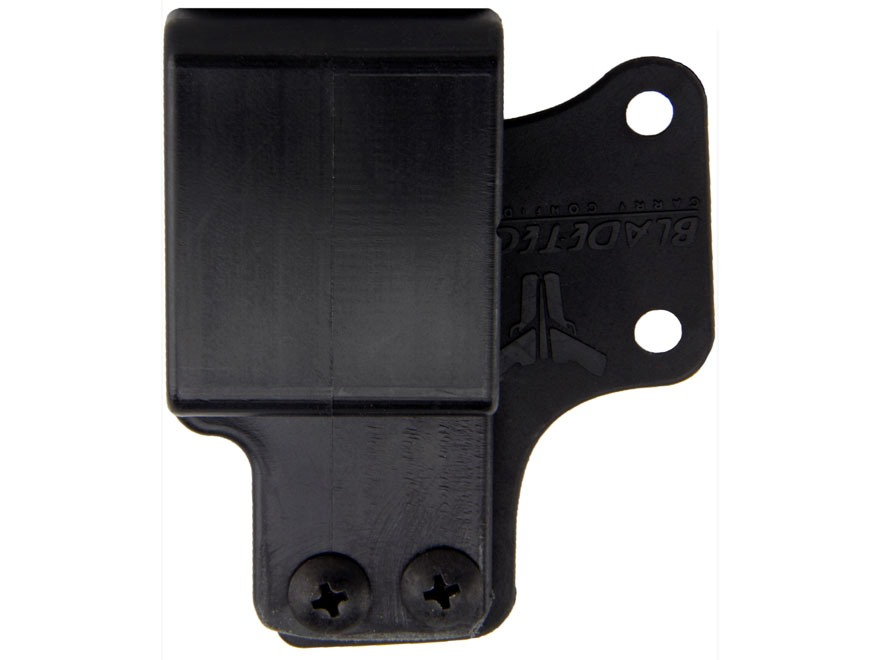 "Blade-Tech Eclipse Inside the Waistband Conversion Kit 1.5"" S-Hook Polymer Black"