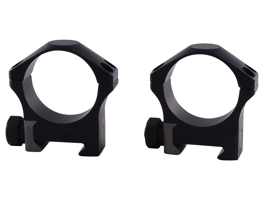 Nightforce 34mm Ultralite 4-Hole Picatinny-Style Rings Matte